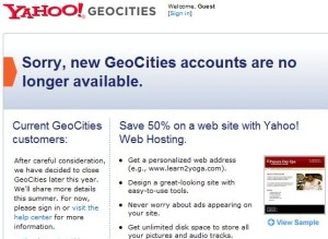 yahoogeocities