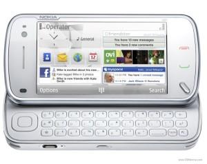 המקלדת של הנוקיה N97 - באדיבות GSMArena.com