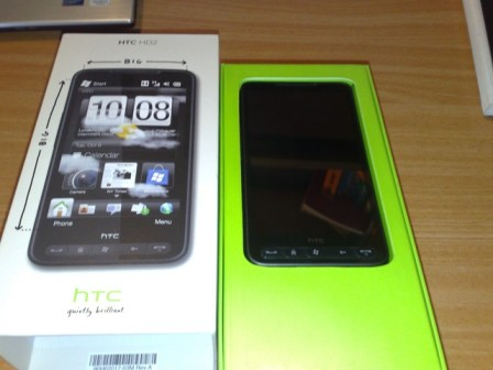 HTC HD2 - 1:1 ratio