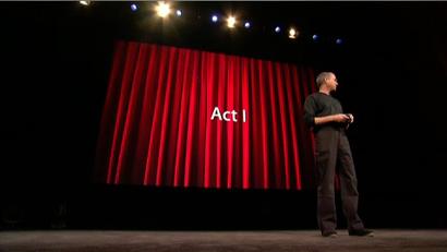 """""""המערכה הראשונה"""" - סטיב ג'ובס, 2005"""