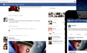 תמונה: צילומסך, הפיד החדש של פייסבוק