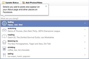 אמוטיקונים בפייסבוק