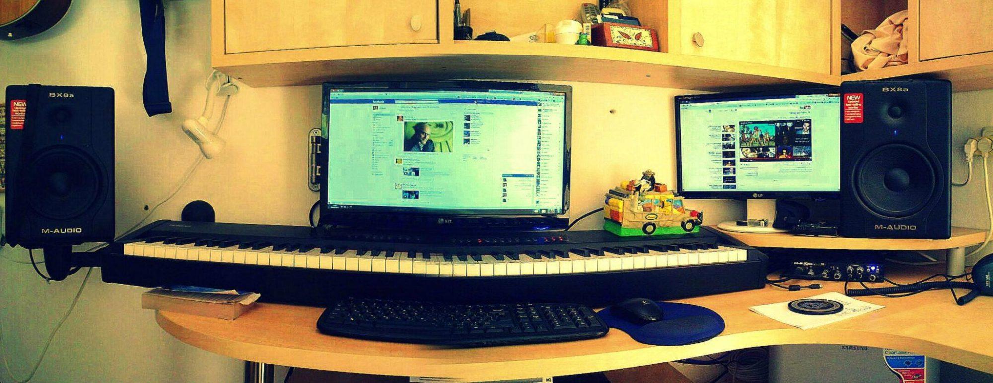 שם השולח: טל שירן. עולם המוזיקה. כיום, ניתן ליצור מוזיקה בעזרת מחשב חזק, כרטיס קול ומוניטורים איכותיים בלבד. המוזיקה של אז ושל היום אולי ישמעו דומה, אך מאחורי הקלעים הטכנולוגיה הקשורה במוזיקה עשתה מהפך והכניסה את כלל הציוד והאפקטים אל תוך המחשב.