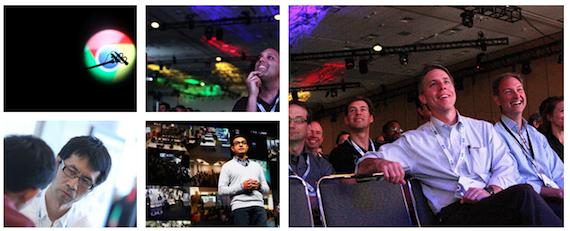תמונות מכנס Google I/O בשנה שעברה. מקור: אתר הכנס.
