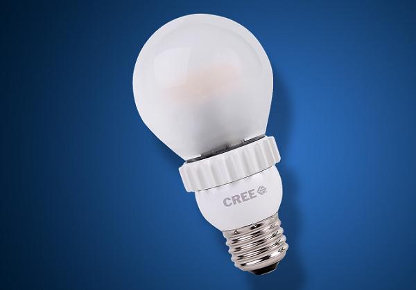 המנורה של Cree. צילומסך: creebulb.com