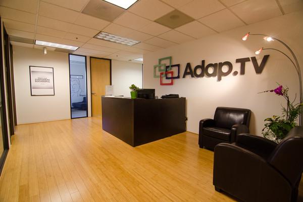 """משרדי Adap.tv בניו-יורק. מקור: יח""""צ"""