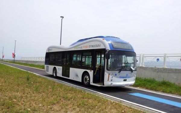 האוטובוס החשמלי. מקור: phys.org