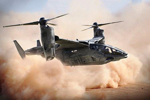 רחפת: המהנדסים מתכננים את התוספת המשמעותית הראשונה לצי ה-VTOL האמריקני כבר יותר משני עשורים. התכניות סודיות ברובן, אבל כלי הטיס ישאב ככל הנראה מטכנולוגיות הרוטור המוטה, כנף ה-VTOL הקבועה ומסוקי התשלובת. תמונה:מדע פופולארי