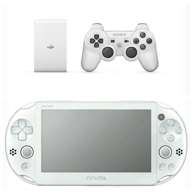 """למעלה: ה-Vita TV, למטה: דגם חדש ל-PS Vita (יח""""צ)"""