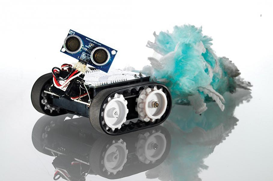 הרובוט של קווין. צילום: מדע פופולארי