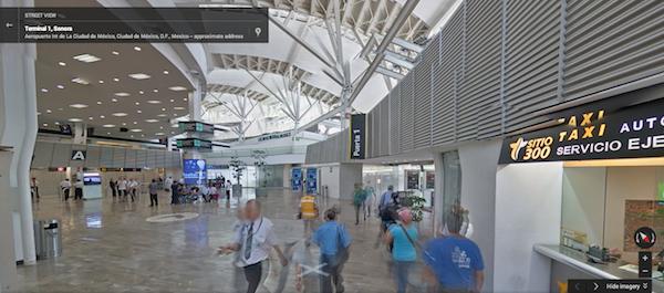 טרמינל 1 בנמל התעופה Sonora שבמקסיקו. מקור: צילום מסך