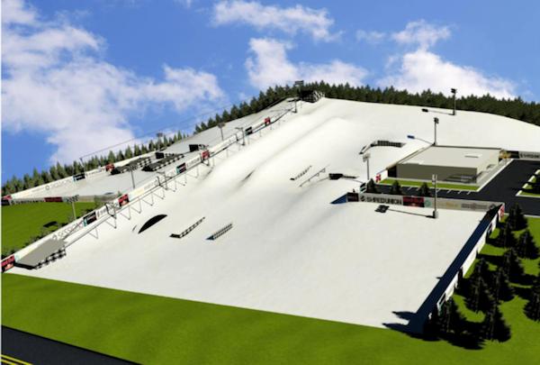 תכנון קונספטואלי של הפארק העתידי. מקור: יח״צ