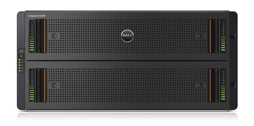 מוצר ה-Compellent של Dell, עליו רצה התוכנה של Exanet