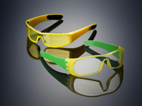 משקפיים שהודפסו במדפסת החדשה