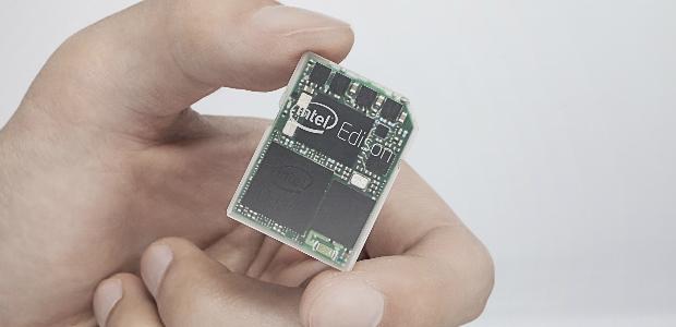 האדיסון של אינטל, מחשב שלם בגודל של כרטיס SD (יח״צ)