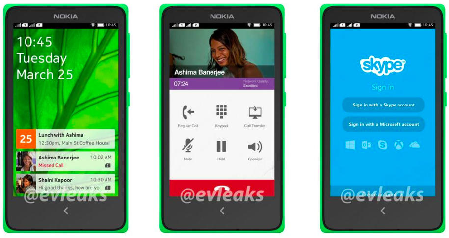 nokia with android