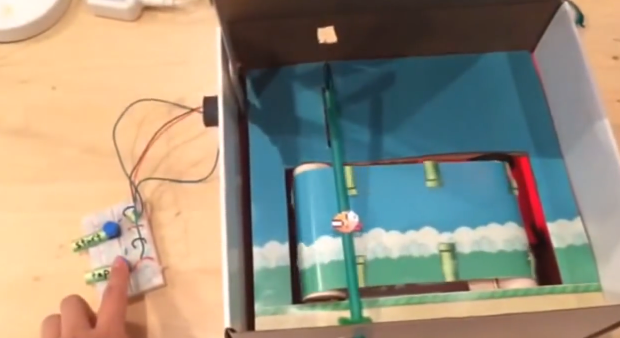 flappy bird in a box