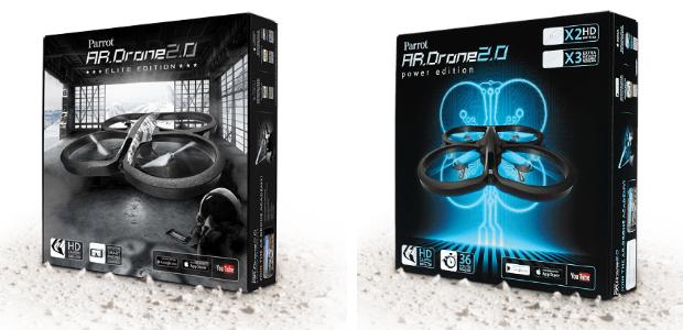 משמאל: מהדורת ה-Elite, מימין: Power Edition