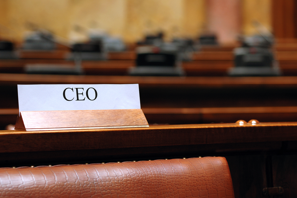 ceo via shutterstock