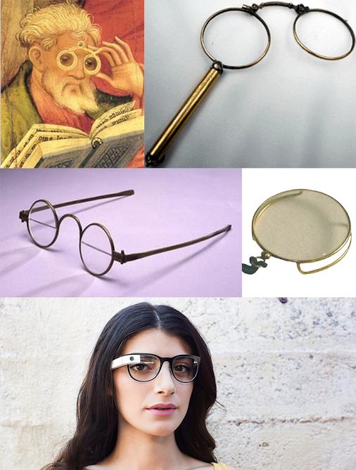 מקור: חשבון ה-Google Plus  של Google Glass