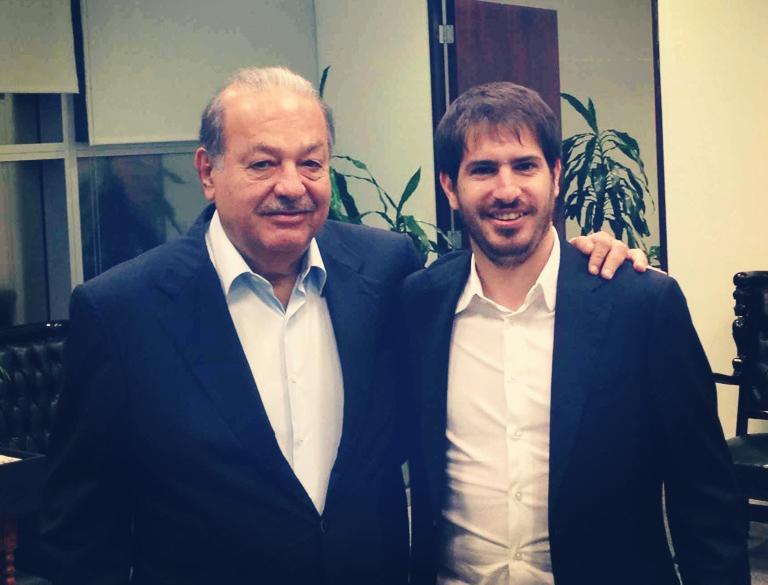 משה חוגג, מייסד ומנכ״ל מובלי יחד עם קרלוס סלים, המשקיע הגדול של החברה