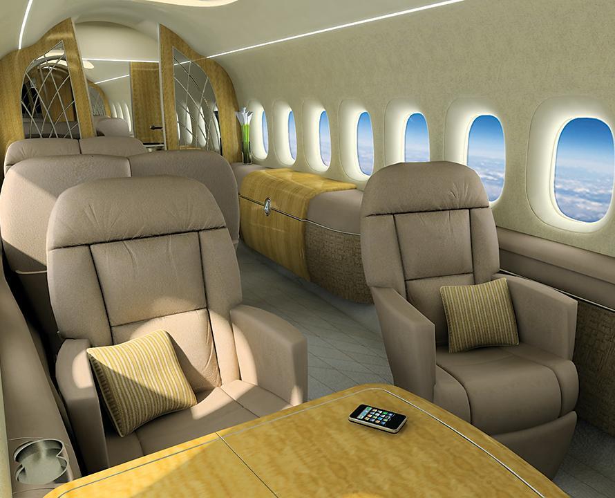 תא הנוסעים שאורכו 9 מטרים, שיכיל גם מטבחון, מיועד להטסת 12 נוסעים. תמונה: מדע פופולארי
