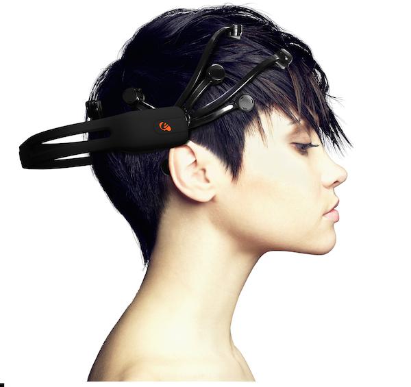 מכשיר ה-Epoc של חברת Emotiv. מקור: יח״צ