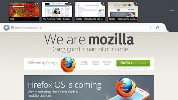 מקור: Firefox Blog