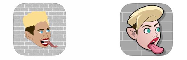 משמאל: הלוגו הישן, מימין: החדש