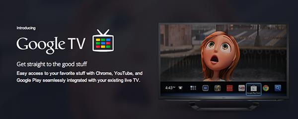 ממשק Google TV. יקבל רענון בקרוב? קרדיט תמונה: גוגל