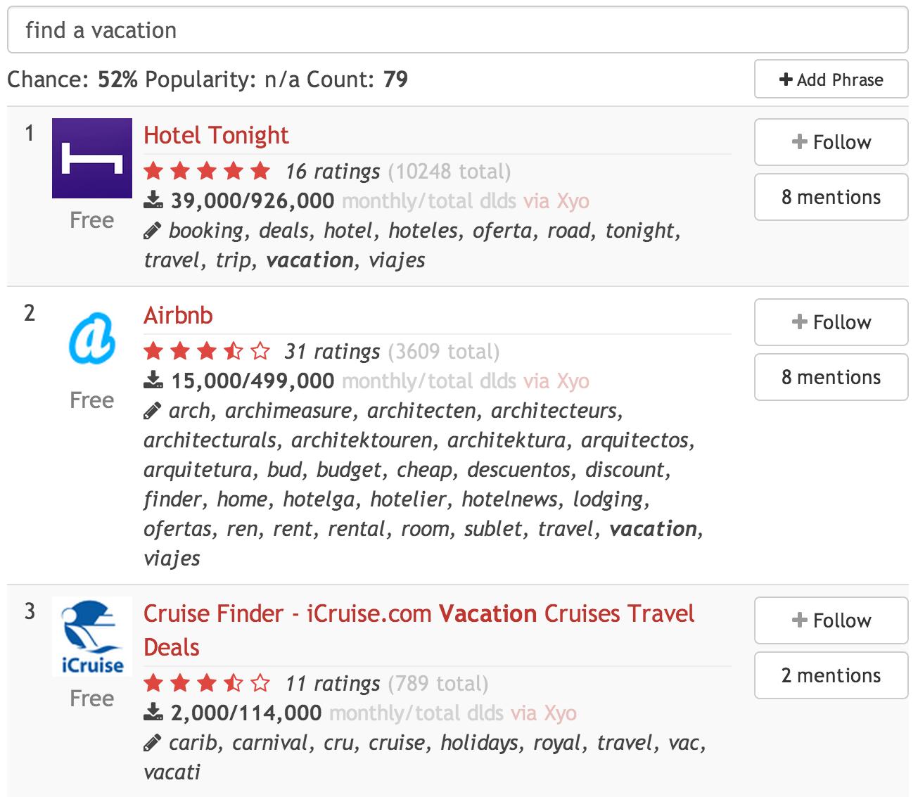 """אופציה 1: """"find a vacation"""", לחצו להגדלה"""