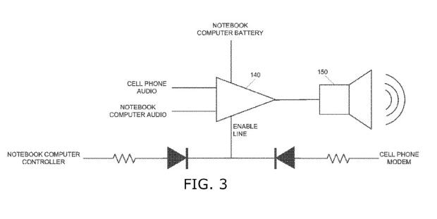 תרשים מתוך בקשת הפטנט. מקור: United States Patent and Trademark Office