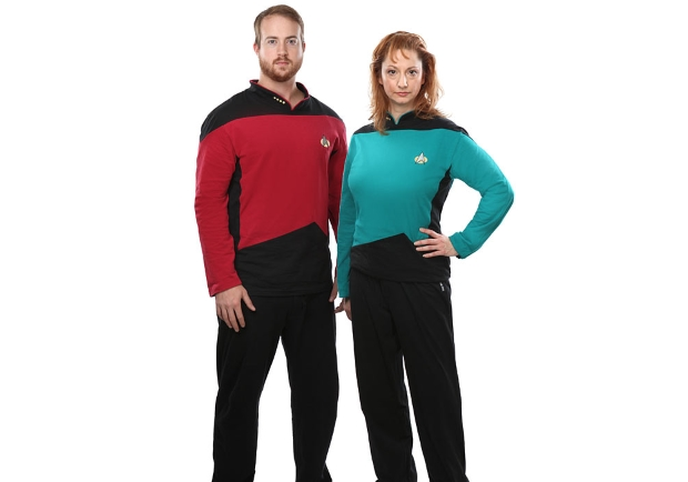 Beam me up, Scotty. פיג'מות Star Trek. מקור: ThinkGeek