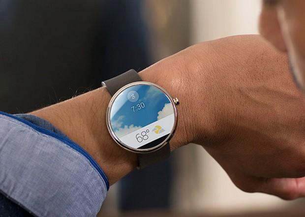 אנדרואיד בשעון. מקור: Google