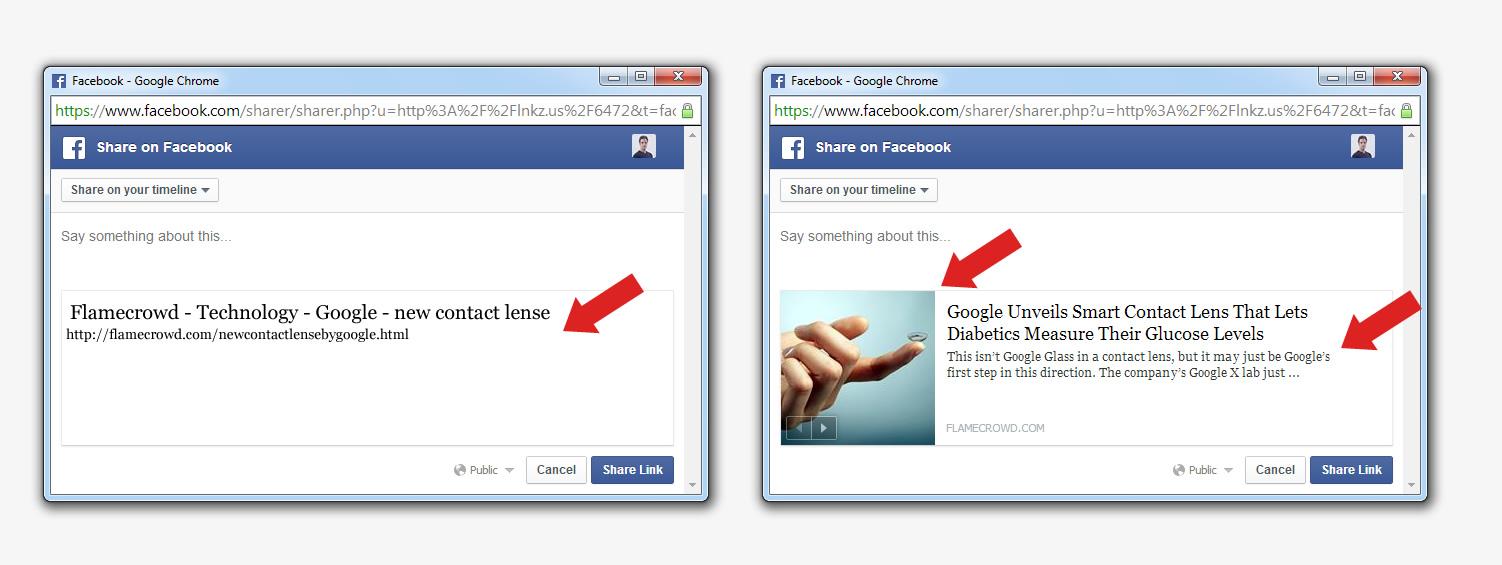 המחשה לאיך הגדרה לא נכונה של העמוד יכולה להשפיע על נראות הפוסט בפייסבוק (מקור: trendemon.com)