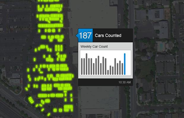 גוגל תוכל לדעת כמה מקומות חנייה נשארו. מקור: Skybox Imaging Inc.