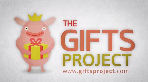 צילום מסך: The Gifts Project