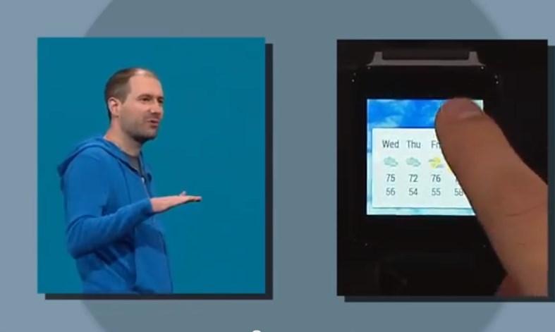 סווייפ לימין, סווייפ לשמאל: השעון החכם. מקור: צילום מסך