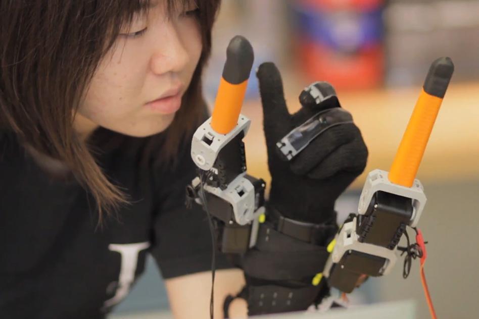 7 אצבעות. מקור:  Melanie Gonick, MIT