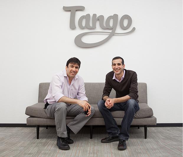 מייסדי Tango, אורי רז הישראלי ואריק סטון. מקור: Tango PR