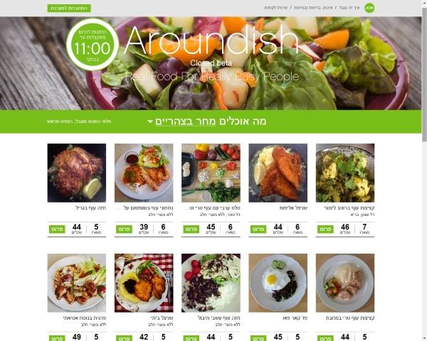 מה אוכלים היום? מקור: צילום מסך