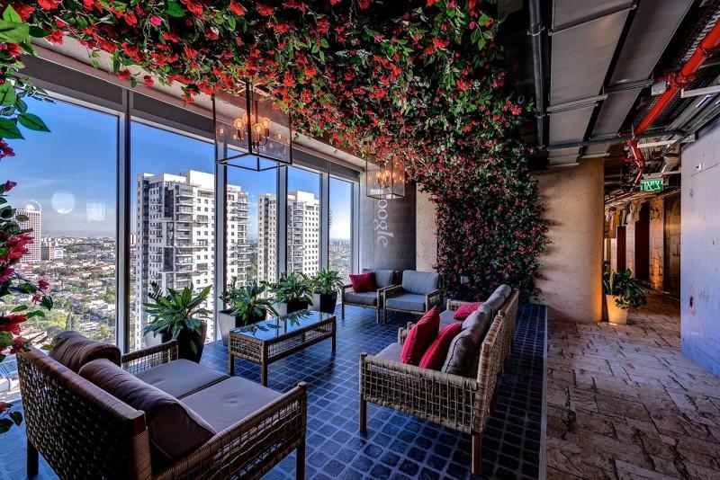 משרדי גוגל בתל-אביב. תמונת יח״צ