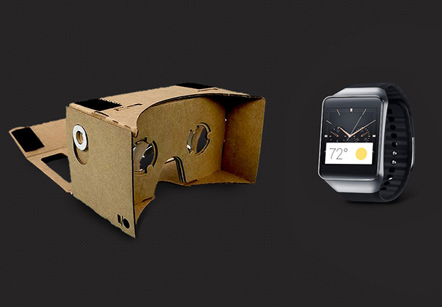 טובים השניים: 2 מהמתנות שקיבלו המשתתפים בכנס המפתחים של גוגל. מקור: Google, Samsung + עיבוד תמונה