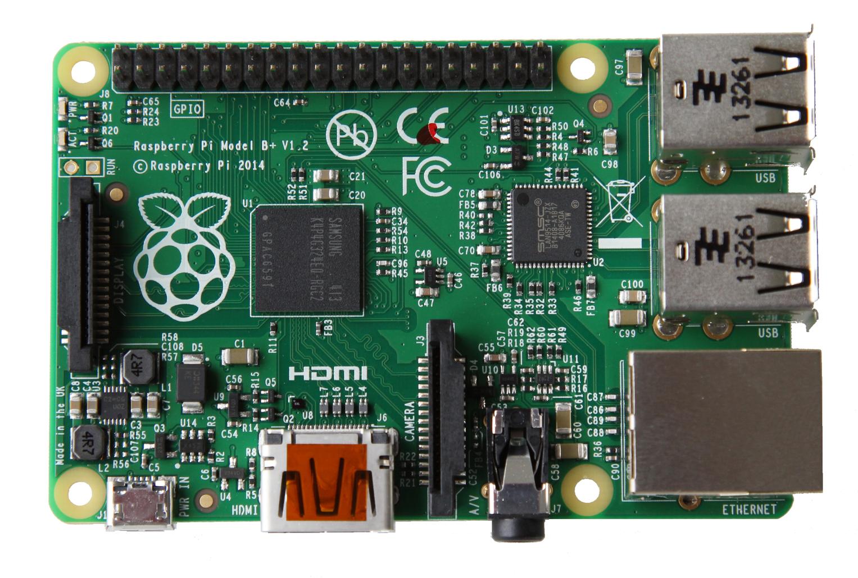 עוד לא גרסה 2... ה-Raspberry Pi B+. מקור: Raspberry Pi