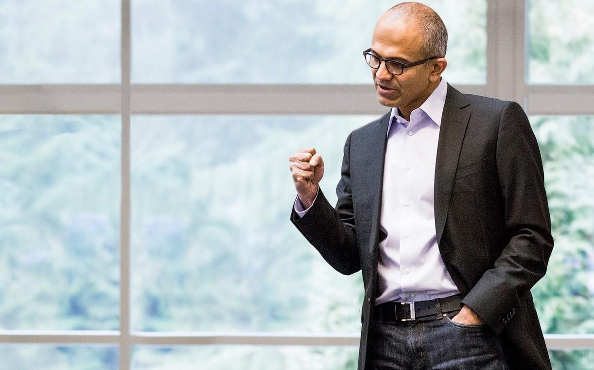 """מנכ""""ל מיקרוסופט, סאטיה נדלה. מקור: Microsoft"""