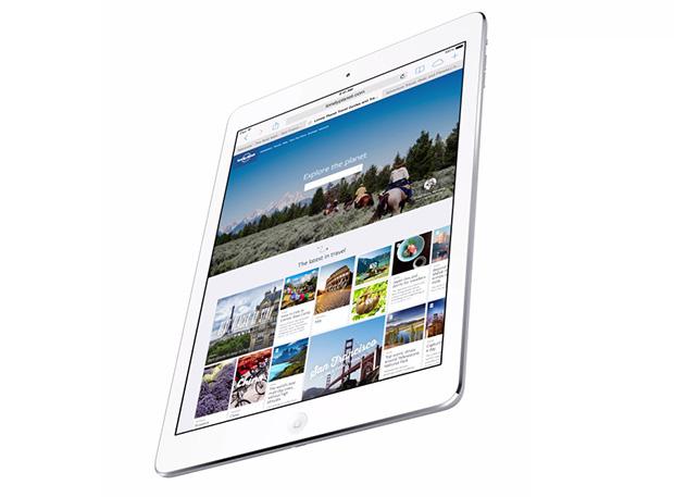 הדגם האחרון של האייפד. מזייף במכירות. מקור: Apple