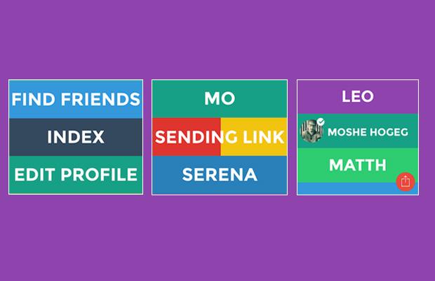 כמה מהפיצ'רים החדשים באפליקציה. מקור: Yo + עיבוד תמונה