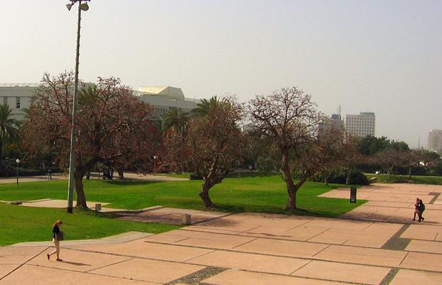 אוניברסיטת תל אביב. מקור: cc-by-RonAlmog, flickr + עיבוד תמונה