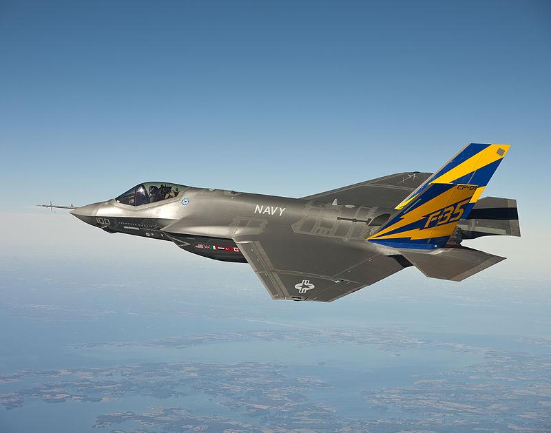 מטוס הקרב המוביל של החברה, ה-F35. כ-19 מטוסים כאלה יכנסו לשירות בחיל האוויר הישראלי ב-2017