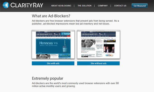 אתר החברה (לפני הרכישה). מקור: צילום מסך